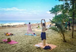 plage ashram