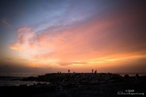 coucher soleil kerala