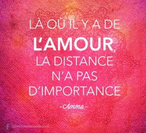 l amour distance